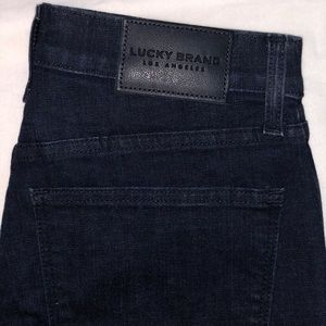 LUCKY BRAND high-rise crop slim jeans